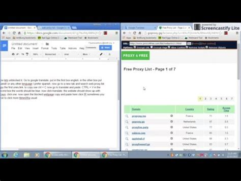 How to unblocked websites in school   YouTube