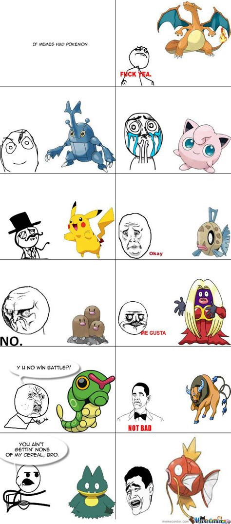 If Memes Had Pokemon by super63   Meme Center