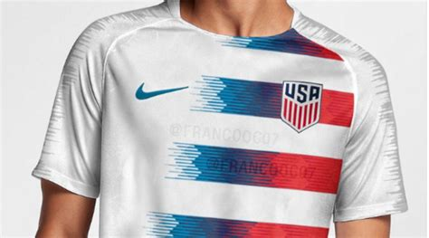 Is this the USA s 2018 World Cup uniform?   cetusnews