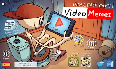 Juego: TrollFace Quest Video Memes