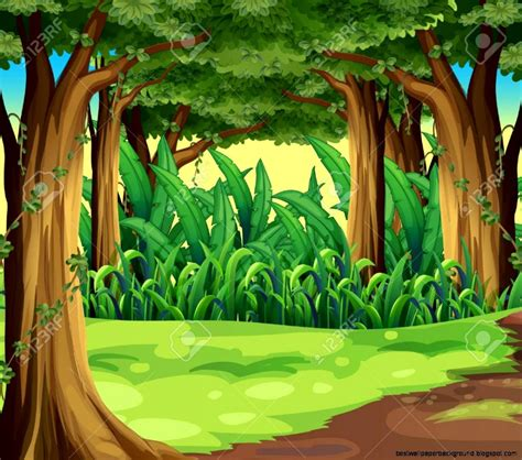 Jungle clipart hd wallpapers   Pencil and in color jungle ...