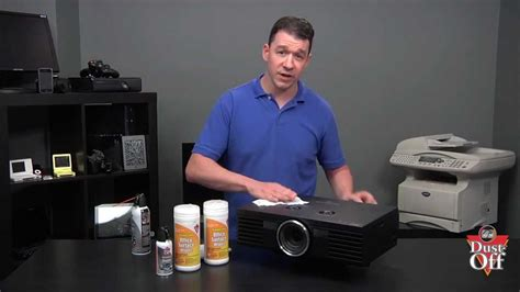 Lesson 14: Cleaning Your Projector   YouTube