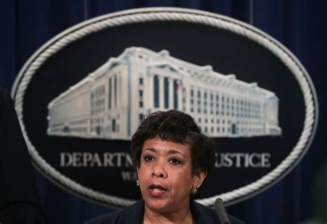 Loretta Lynch defends trans rights at the Justice Department.
