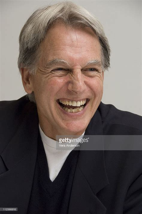 Mark Harmon at the  NCIS  press conference at the Four ...