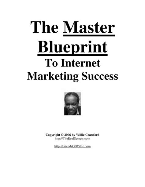 Master Blueprint ti Internet Marketing Success   Download ...