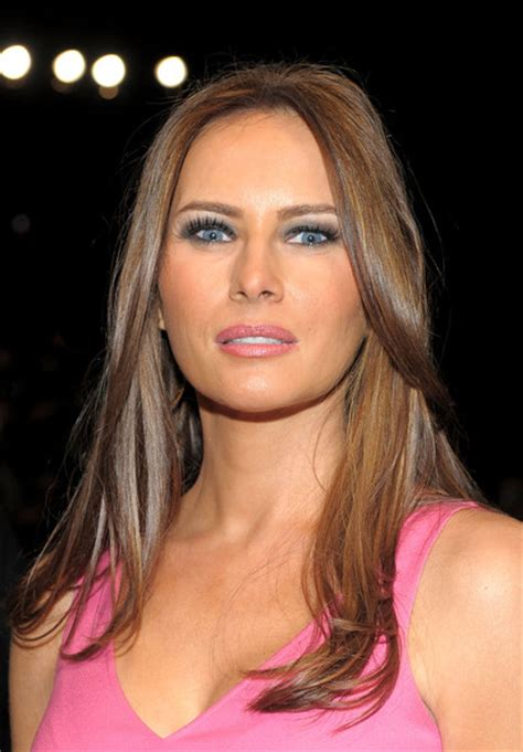 Melania Trump Pictures   Michael Kors   Front Row   Spring ...