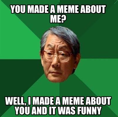 Meme Creator my name is ling ping and this is my noodle ...