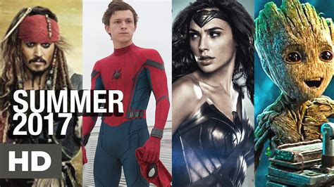 MOST ANTICIPATED MOVIES 2017   Top 5 best movies Summer ...