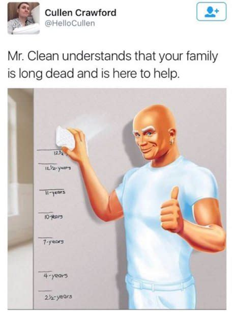 Mr. Clean | Funny Memes | Daily LOL Pics