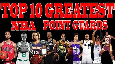 NBA TOP 10 Greatest Point Guards of All Time   YouTube