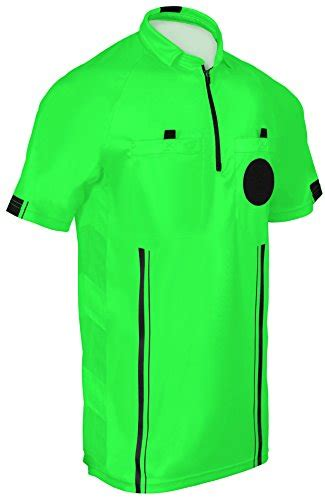 NEW! 2018 Soccer Referee Jersey  2018 Green, Adult Extra ...