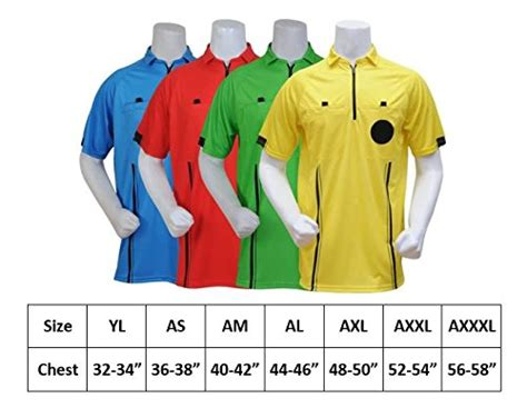 NEW! 2018 USSF Soccer Referee Jersey  2018 Yellow, Youth ...