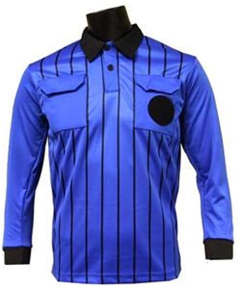 Official Soccer Referee Jerseys LONG Sleeve ROYAL ...
