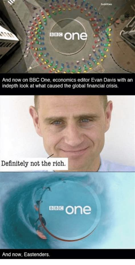 On and Now on BBC One Economics Editor Evan Davis With an ...