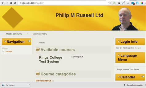Philip M Russell Ltd: Artisteer 4 and Moodle