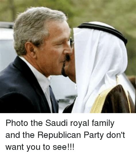 Photo the Saudi Royal Family and the Republican Party Don ...