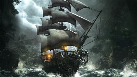 Pirate Ship Wallpaper HD  71+ images