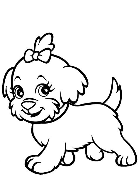 Puppy Coloring Pages Printable Printable Coloring Pages ...