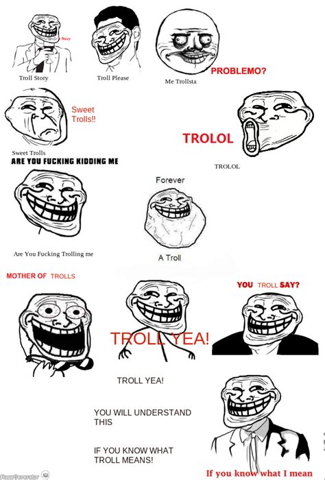 RageGenerator   Rage Comic   WHEN TROLLFACE GETS TO OTHER ...