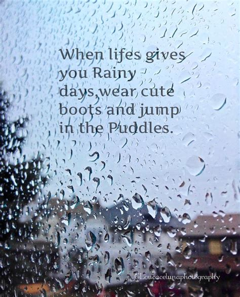 Rainy Day Quote | Beautiful Quotes.....touch My Heart ...
