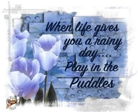 Rainy days, Rainy day quotes and Day quotes on Pinterest