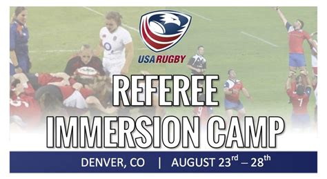 Referee Immersion Camp: Hone Your Skills By Learning From ...