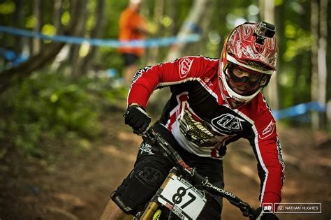 Remi Gauvin at Windham World Cup DH Track in Windham ...