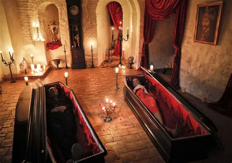 Romania: 2 Canadians to sleep in coffins at Dracula s ...