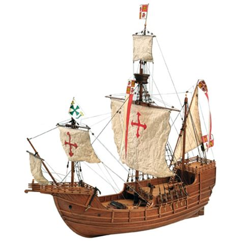 Santa Maria Caravel Wooden Model: the New World is on your ...