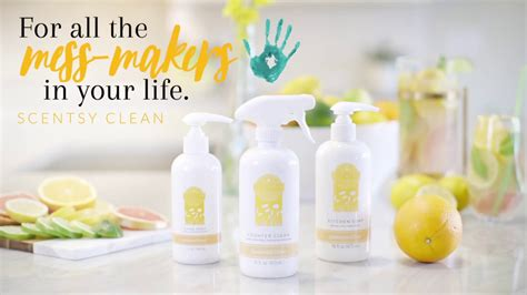 Scentsy Clean | Cleaning Products | How I Clean   YouTube