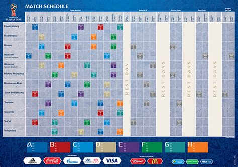 Schedules set for 2018 FIFA World Cup, 2017 Confederations ...