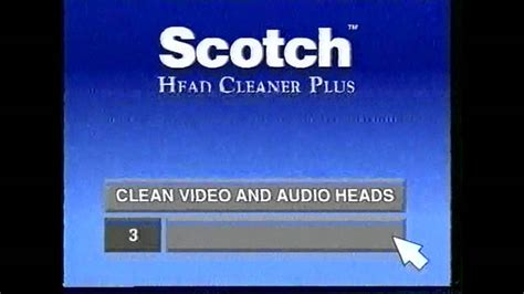 Scotch Head Cleaner Plus   YouTube