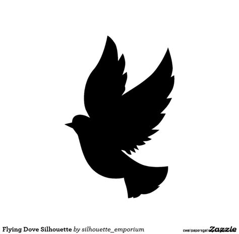 Single Flying Bird Silhouette Dove | Wallpapers Gallery
