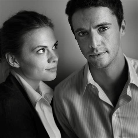 some old pictures I took: Matthew Goode & Hayley Atwell