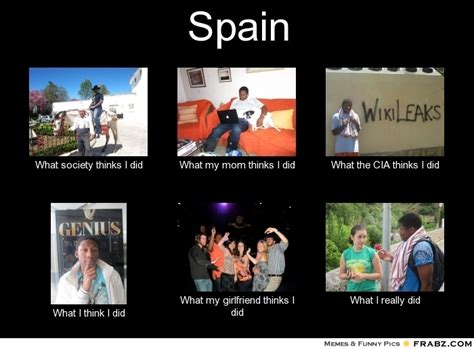 Spain...   Meme Generator What i do
