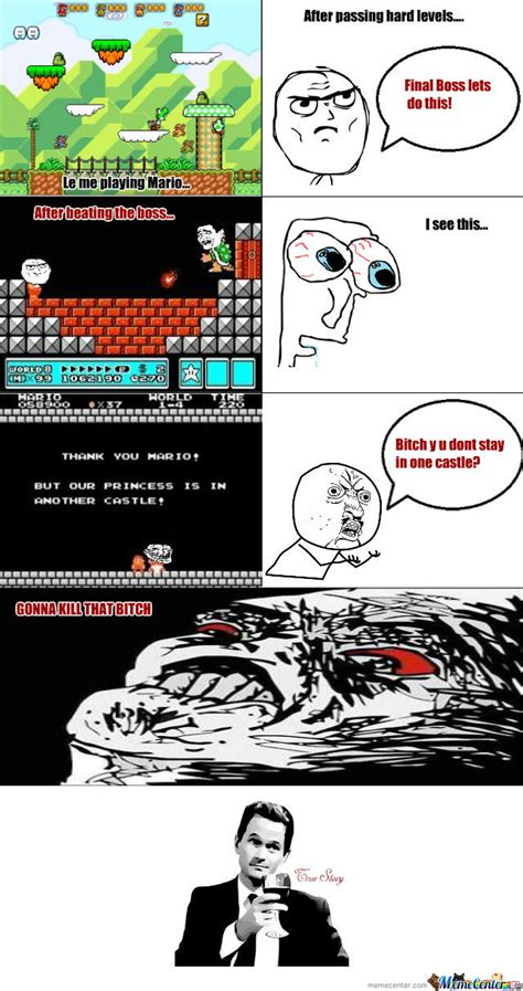 Super Mario Troll by darth9vader   Meme Center