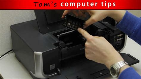 TCT   How to remove and clean Canon Printhead   YouTube