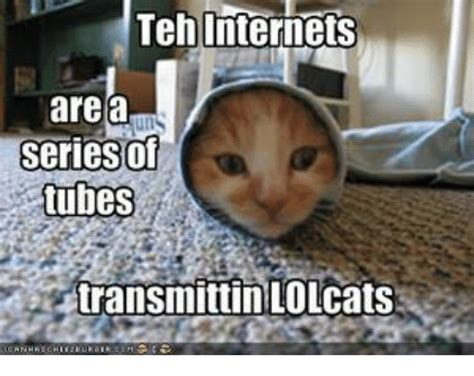 Teh Internets Are a Seriesof Tubes Transmittin LOLcats ...
