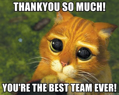 Thankyou so much! you re the best team ever!   Puppy Eyes ...