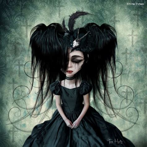 The Gothic Art of Toon Hertz   25 Bewitching Examples   if ...