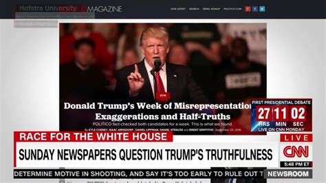 The weekend America s newspapers called Donald Trump a liar