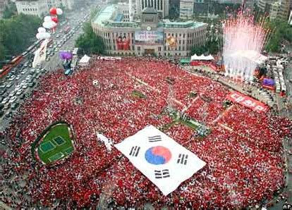 Thoughts on Korea media and popular culture: 2002 World Cup