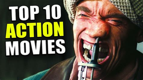 Top 10 ACTION Movies   Movie Night   YouTube