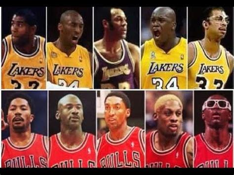 Top 10 Best All Time NBA Franchise Teams   YouTube