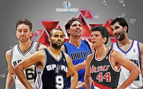 Top 10 Best European NBA Players of All Time