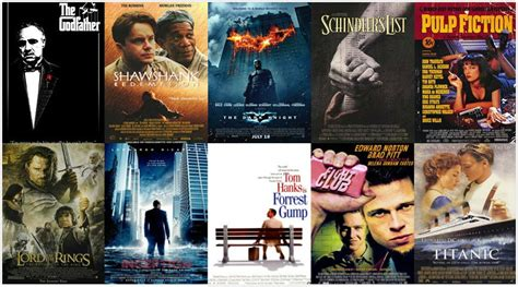 Top 10 Best Hollywood Movies Of All Time – Based On Rating ...