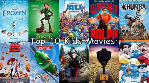 Top 10 Best Movies for Kids | The Kids Logic   News ...