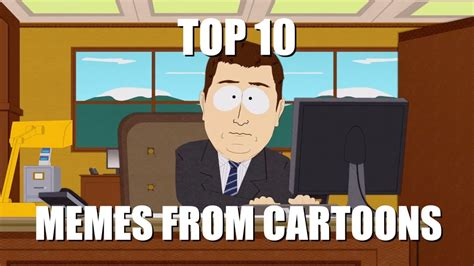Top 10 Memes From Cartoons   YouTube
