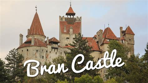 Touring Dracula s Bran Castle in Romania   YouTube