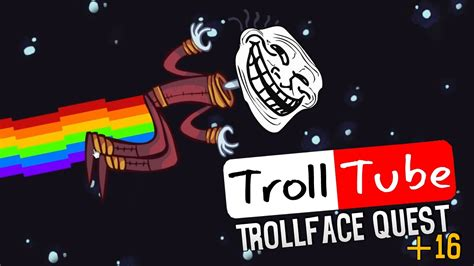 TROLL NA YOUTUBE +16 | Troll Face Quest   Troll Tube ...